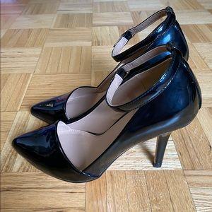 Black Patent Leather Heels Size 7